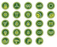 De pictogrammen van de industrie Royalty-vrije Stock Foto's