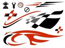 De pictogrammen van de snelheid vector illustratie