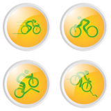 De pictogrammen van de sport Royalty-vrije Stock Afbeeldingen