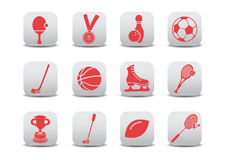 De pictogrammen van de sport Royalty-vrije Stock Afbeelding