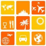 De pictogrammen van de vakantie Stock Fotografie