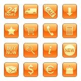 De pictogrammen van de verkoop & van de levering Royalty-vrije Stock Fotografie