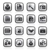 De pictogrammen van de werkgelegenheid en van banen royalty-vrije illustratie