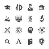 De pictogrammen van de wetenschap Royalty-vrije Stock Fotografie