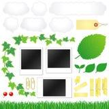 De pictogrammen van Eco Stock Afbeelding