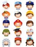 De pictogrammen van het beroep Royalty-vrije Stock Afbeeldingen