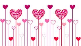 De pictogrammen van het hart, de dag van valentin royalty-vrije illustratie