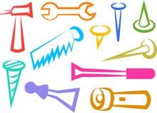 De pictogrammen van het hulpmiddel Royalty-vrije Stock Afbeelding