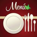 De Pictogrammen van het menu Stock Afbeeldingen