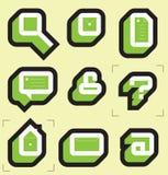 De pictogrammen van het net voor Web Royalty-vrije Stock Foto