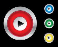 De pictogrammen van het spel Stock Foto