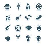 De pictogrammen van het voedsel, deel 1 stock foto's