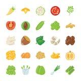 De pictogrammen van het voedselingrediënt Royalty-vrije Stock Fotografie