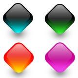 De pictogrammen van het Web Stock Afbeelding