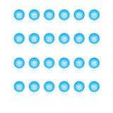De pictogrammen van het Web Stock Afbeeldingen