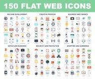 De pictogrammen van het Web Royalty-vrije Stock Foto