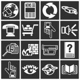 De pictogrammen van het Web Royalty-vrije Stock Foto's