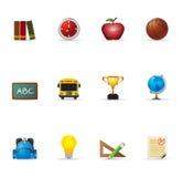 De Pictogrammen van het Web - School Royalty-vrije Stock Fotografie
