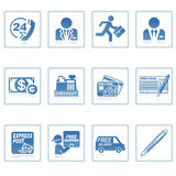 De pictogrammen van het Web: zaken en financiën III Stock Foto's