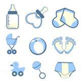 De pictogrammen van jonge geitjes Stock Fotografie