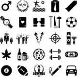 De pictogrammen van jongens Royalty-vrije Stock Foto
