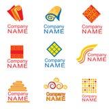 De pictogrammen van Karpet Stock Afbeelding