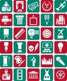 De pictogrammen van kunsten Royalty-vrije Stock Afbeelding