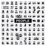 De pictogrammen van mensen Royalty-vrije Stock Foto
