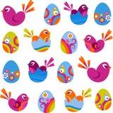 De pictogrammen van Pasen vector illustratie