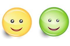De Pictogrammen van Smiley Stock Afbeelding