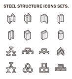 De pictogrammen van de straalpijp Royalty-vrije Stock Foto's
