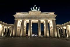 De piek Brandenburger Royalty-vrije Stock Foto's