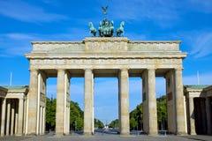 De piek Brandenburger in Berlijn royalty-vrije stock afbeeldingen