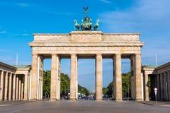 De piek Brandenburger in Berlijn royalty-vrije stock fotografie