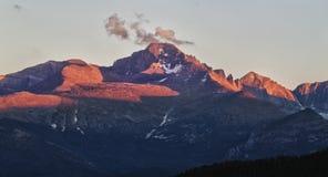 De Piek Rotsachtige Bergen van Longs royalty-vrije stock foto