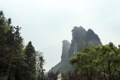 De Piek van de Berg van de Kikkermond stock afbeelding