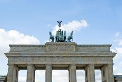 De piek van Brandenburger Stock Afbeelding