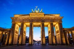 De Piek van Brandenburger Stock Fotografie