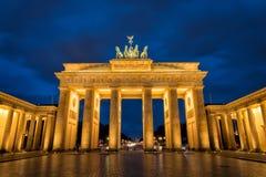 De Piek van Brandenburger Stock Afbeeldingen