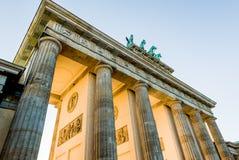 De Piek van Brandenburger Stock Foto