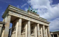 De Piek van Brandenburger, Berlijn royalty-vrije stock afbeelding