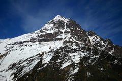 De Piek van de Andes Stock Afbeelding