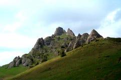 De piek van de berg Royalty-vrije Stock Foto
