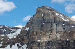 De piek van de berg royalty-vrije stock foto's