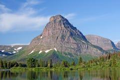 De Piek van de berg in de Wildernis Royalty-vrije Stock Foto's