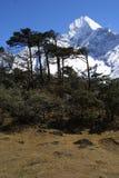 De Piek van de Berg van Himalayagebergte Royalty-vrije Stock Afbeeldingen