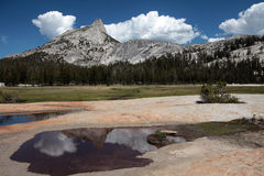 De Piek van de kathedraal, Nationaal Park Yosemite Royalty-vrije Stock Fotografie