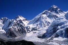 De piek van Everest Royalty-vrije Stock Foto