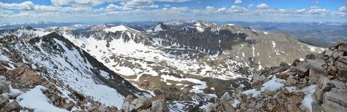De Piek van het dilemma - Colorado stock foto