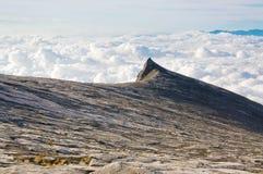 De Piek van het zuiden van Onderstel Kinabalu Royalty-vrije Stock Foto's